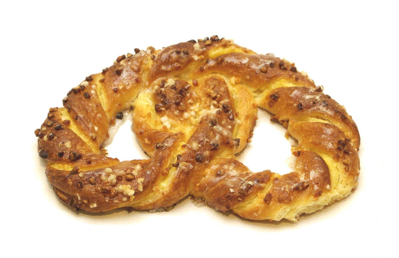 bretzel sucrée de la boulangerie Chez Pascal
