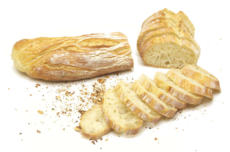 baguette Grand Siècle coupée en tranches